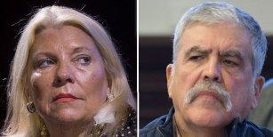 La ironía de Julio de Vido al ser detenido y la respuesta de Lilita Carrió