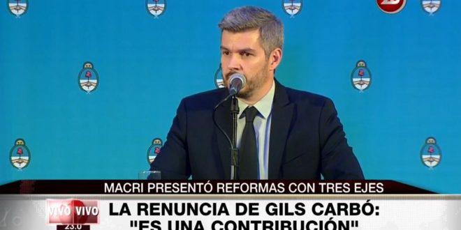 Marcos Peña: Haremos una propuesta para que el sistema previsional se ajuste por inflación