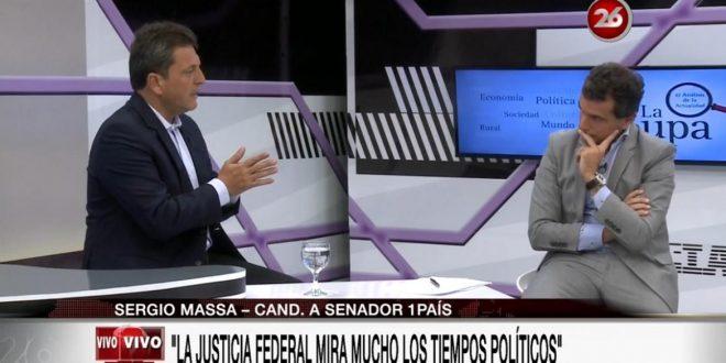Massa sobre De Vido y Boudou: Hay que esperar que la Justicia actúe