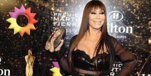 Moria Casán abandonó el estudio de ShowMatch durante el baile de Piquín