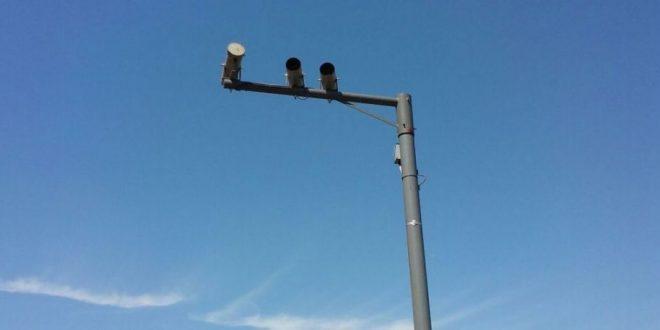 Nuevo radar en la ruta 2 en Castelli