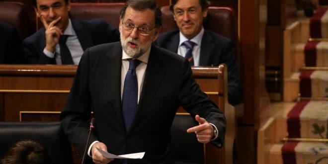 Rajoy sobre intervenir Cataluña: Es la única respuesta posible