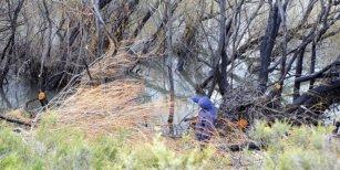 Un llamado a la Justicia fue el que alertó sobre la presencia de un cuerpo en el río Chubut