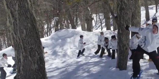 Un sueño nevado cumplido gracias a Sur Solidario