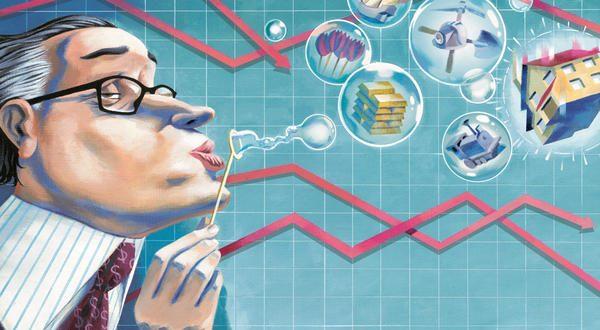 Las 5 burbujas económicas que existen en la actualidad