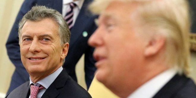 Macri le propuso a Trump que embargue todas las exportaciones petroleras de Venezuela a EEUU