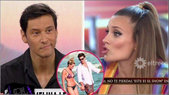 ¿Melina Lezcano encontró a su exnovio con su bailarín en la cama?