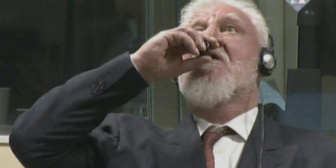 Murió el criminal de guerra Slobodan Praljak tras tomar veneno en su juicio