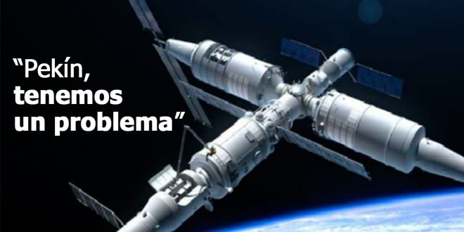 La estación espacial china fuera de control caería en la Argentina