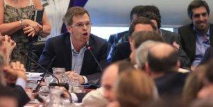 El presidente del bloque del PRO: ¿Quieren pedir por la guita? Vamos a Ezeiza y Marcos Paz