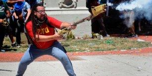La insólita defensa del Partido Obrero al hombre que disparó con un arma tumbera frente al Congreso