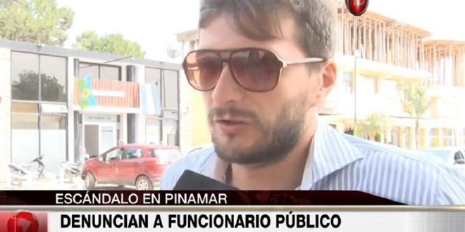 Denuncian a funcionario público por presunto pedido de coimas EN pINAMAR