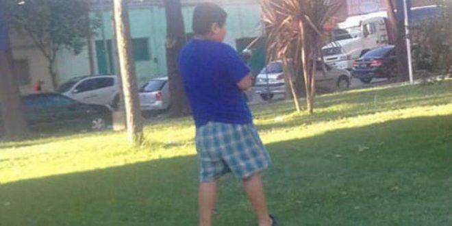 Denuncian discriminación a nene de 7 años en pelotero por ser gordo