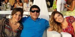 Escándalo en el clan Maradona: Gianinna le envió un mensaje a Dalma descalificando a Diego