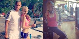 La novia de Maxi López se metió en el escándalo de los audios violentos y atacó a Wanda Nara
