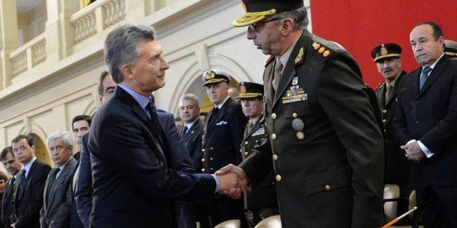 Macri definirá en marzo las jefaturas de las Fuerzas Armadas