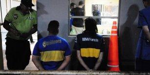Policías e hinchas de Boca se enfrentaron en la previa del Superclásico: 10 detenidos