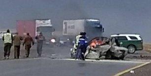 Una familia argentina murió en un brutal choque en Chile