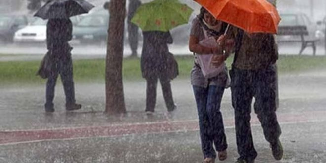 Alerta meteorológico por tormentas, vientos y granizo para Capital y 7 provincias