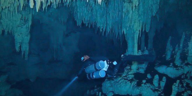 Avanza la réplica de la cueva de Hoyo Negro