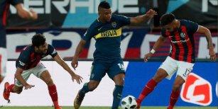 Boca y San Lorenzo empataron 1-1