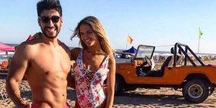 Captaron in fraganti a Facundo moyano con su ex Eva Bargiela