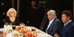 El cruce de Hugo Moyano con Mirtha Legrand: En esta mesa no entienden los reclamos de los trabajadores