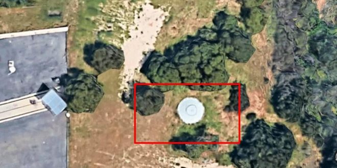 Google Maps habría captado gigantesco OVNI dentro de la NASA