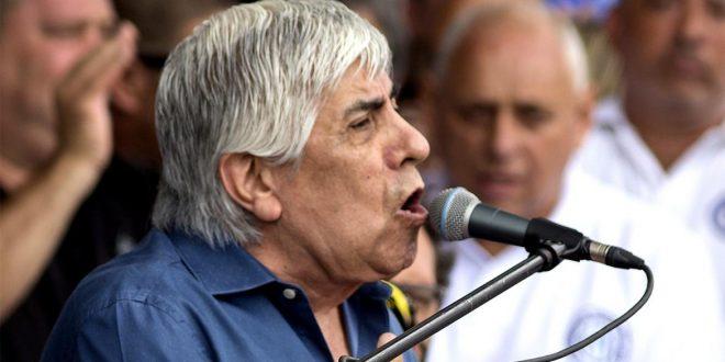 Hugo Moyano: Hay actitudes de funcionarios que son de gorila