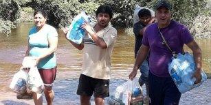 Inundaciones en Salta: acusan a funcionario de Cambiemos de quedarse con donaciones