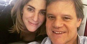 La emotiva despedida de Quique Sacco a Débora Pérez Volpin en las redes sociales