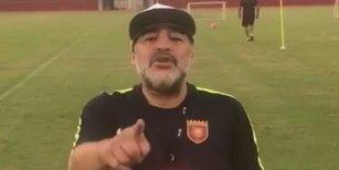 La ira de Diego Maradona tras conocerse las fotos del Chino de La Nueva Luna muerto