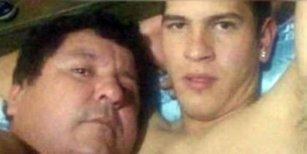 Las fotos íntimas de un jugador con el presidente del club