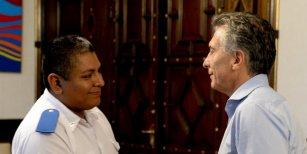 Mauricio Macri, sobre Luis Chocobar: La policía nos tiene que cuidar a nosotros, no a los delincuentes