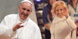 Mirtha Legrand contra el papa Francisco