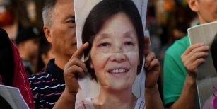 Nuevas imágenes de la mujer china en el aeropuerto antes de desaparecer