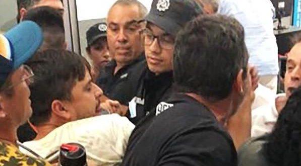 Padres de chicas que volvían de Disney enfrentaron a policías en el Aeropuerto de Rosario