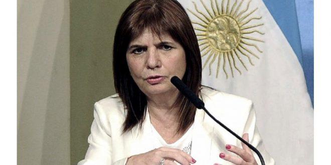 Patricia Bullrich : Vamos a saturar de fuerzas federales los barrios