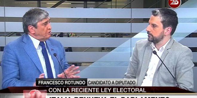 Rotundo: Hay que mejorar las atenciones de los consulados para los italianos