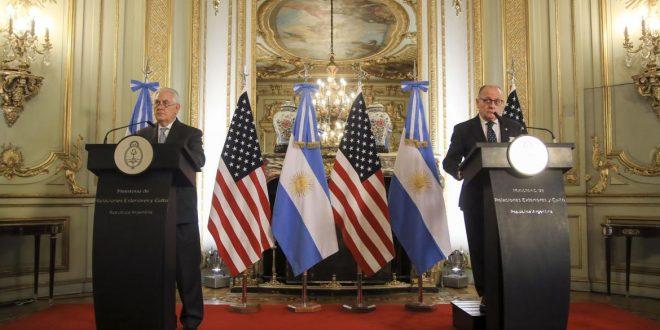 Secretario de EEUU afirma que las relaciones con Argentina son cada vez más sólidas