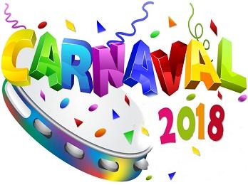 ¿Cuándo caen los feriados de Carnaval en 2018?