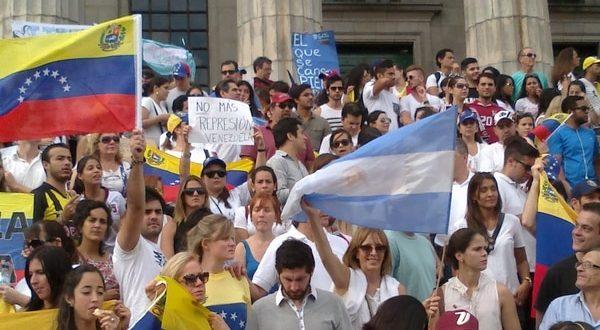 La llegada de venezolanos a la Argentina aumento un 1.600%
