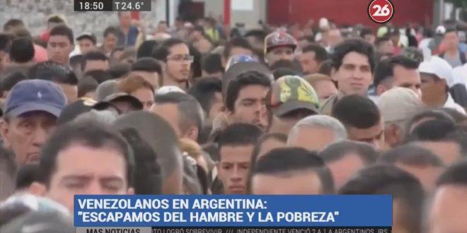 Argentina: la tierra prometida de los venezolanos