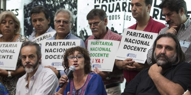 CTERA confirmó paro de docentes en todo el país para el lunes y martes próximos