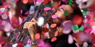 Del Potro se consagra campeón de Indian Wells tras ganarle un impresionante partido a Federer