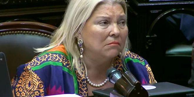 Elisa Carrió se descompensó en Aeroparque