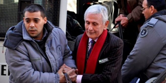 Etchecolatz volvió a la cárcel de Ezeiza