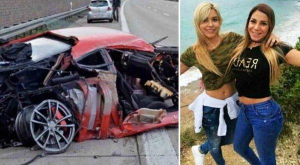 Le prestaron una Ferrari , la chocó y abandonó a sus dos amigas que murieron quemadas
