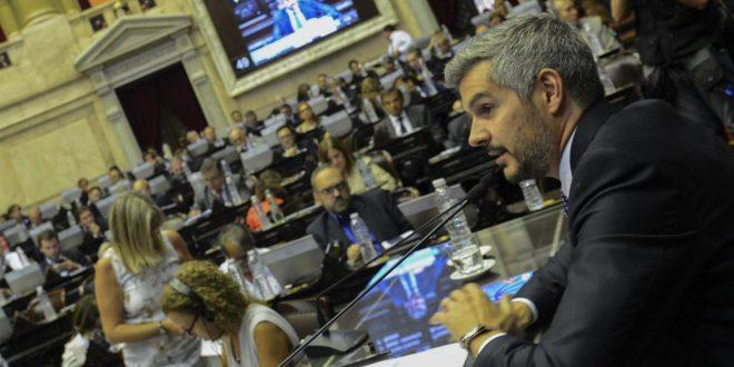 Marcos Peña en Diputados: La inflación seguirá bajando