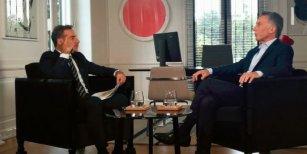 Mauricio Macri, con Luis Majul: Vamos a apelar el fallo que liberó a Cristóbal López, es un malversador